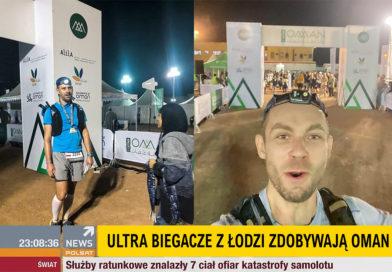 Ultra biegacze z Łodzi zdobywają Oman by UTMB